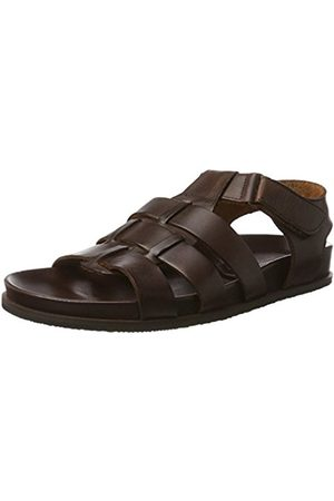 Men Sandals - Men's 610224 Open Toe Sandals brown Size: 9