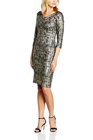 Women Knitted Dresses - Women's Metallic Knit Dress