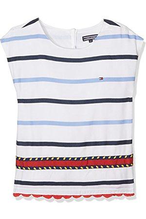 Girls Vests & Camis - Tommy Hilfiger Girl's Embellished Rayon Stripe Top S/S Vest
