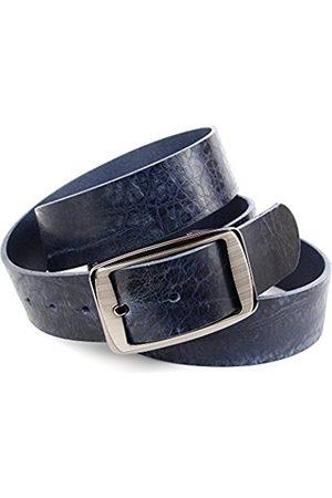 Anthoni Crown Men's 3J280 Belt, (Blau 080)