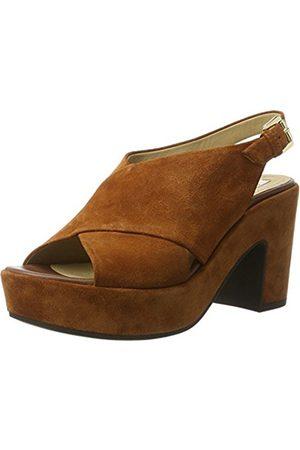 Women Sandals - Geox D Zaferly B, Women's Wedge Heels Sandals