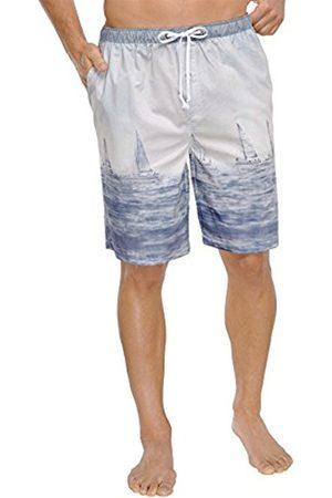 Men Pyjamas - Schiesser Men's Pyjama Bottoms - - Large