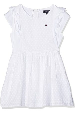 Girls Dresses - Tommy Hilfiger Girl's M Dobby Mix S/S Dress