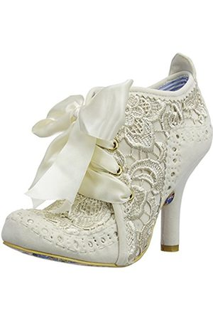 Women Heels - Irregular Choice Abigail's Third Party, Women's Closed-Toe Pumps, Off (Cream)