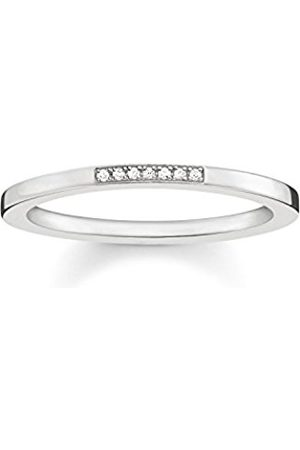 a7678b36693 Thomas Sabo Women Ring 925 Sterling D TR0005-725-14