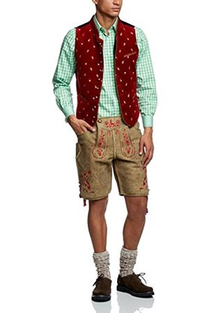 CHEAPLOADER Men's Weste Calzado Floral Short Sleeve Gilet