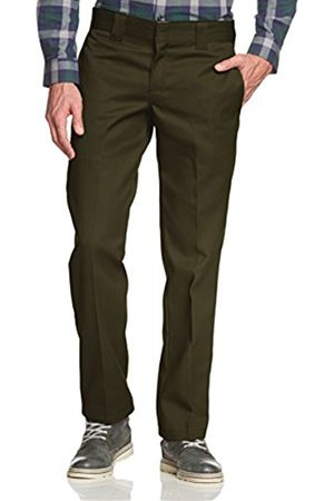 Men Chinos - Dickies Men's Straight Work Slim Trousers - W32/l30 (manufacturer Size: W32/l30)