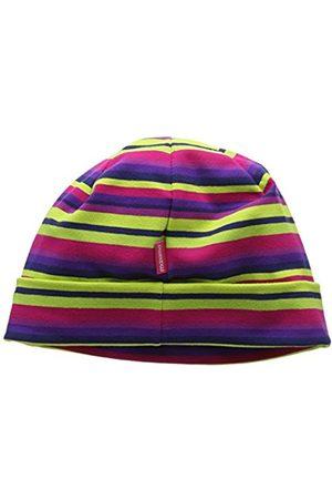 Girls Hats - maximo Girl's Mütze Mit Umschlagrand, Ringeljersey Hat