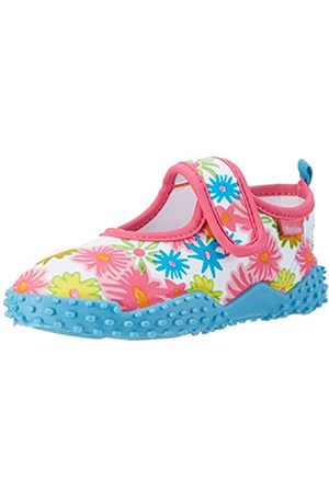 Girls Shoes - Playshoes GmbH Girls' UV Protection Aqua Allover Flowers Water Shoes