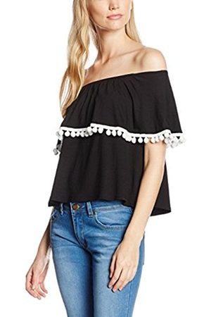 c0dfc180a0bfe Black Frill sleeve Tops   T-shirts for Women