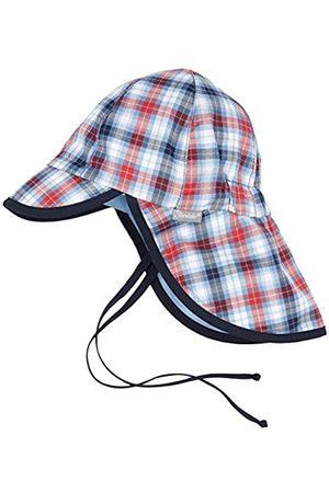Hats - Sterntaler Baby Boys' Schirmmütze m Nackenschutz Hat