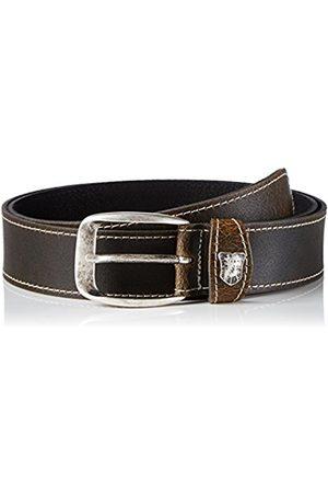 Belts - Werner Trachten Unisex Trachtengürtel Belt - brown - 80 cm