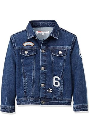 Boys Denim Jackets - Boy's Denim Badges Jacket