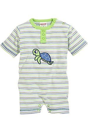 Rompers - Schnizler Unisex Baby Kurzoverall Schildkröte, Oeko-Tex Standard 100 Romper, (Grün)
