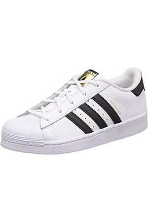 Trainers - adidas Unisex Kids  Superstar C Low-Top Sneakers . 9866e886b