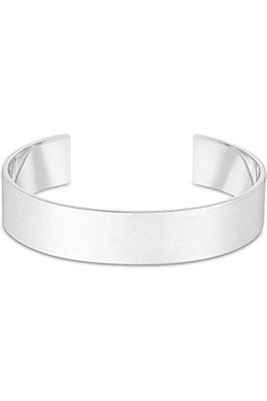 Men Bracelets - Extra Large Plated Brass Small/Medium Cuff of 14.6 cm