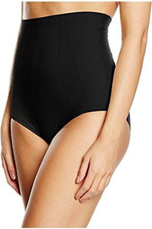 Women Lingerie & Underwear - Women's Guaina Vita Alta the Celebrity Secrets. Controllo Ventre, Pancia e Fianchi Modelling Lingerie, (004-Nero)