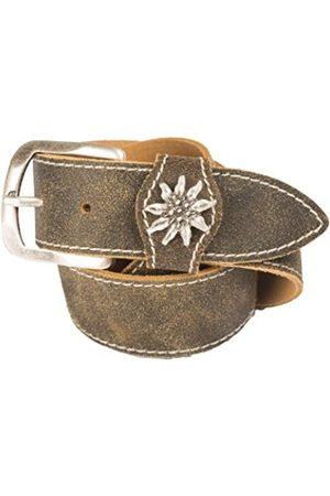 Belts - Werner Trachten Unisex Belt, (Braun 101)