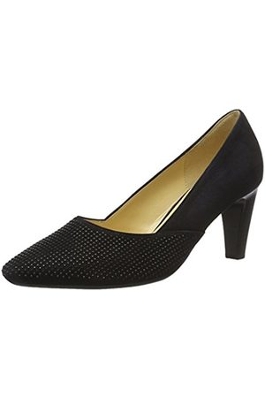 Women Heels - Gabor Shoes Women's Fashion Closed-Toe Pumps, (Pazifik +Steine 16)