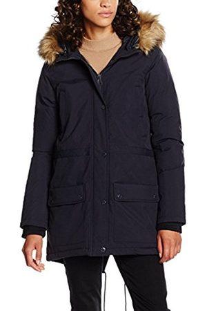 Women Coats - Schott NYC Women's Lucia Hooded Snorkel Down Coat