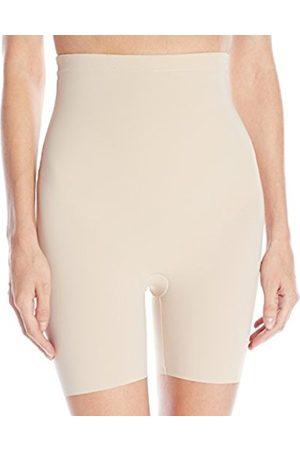 Women Shapewear - Maidenform Women's Sleek Smoothers Hi-Waist Shortie Plain Shaping Control Knickers