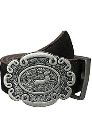 Men Belts - Stockerpoint Men's Gürtel GO-65 Belt, -Braun (Moor Gespeckt)