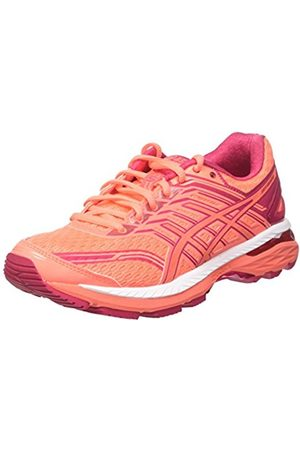 Asics Women's GT-2000 5 Running Shoes, (Flash Coral /Bright Rose)