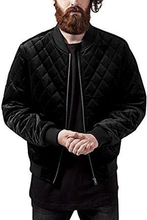 Urban classics Men's Diamond Quilt Velvet Jacket