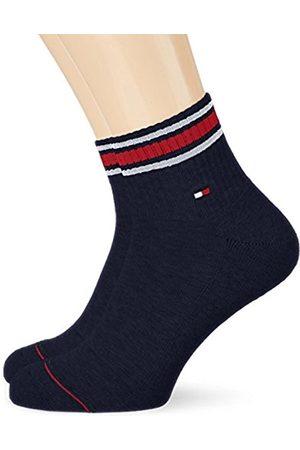 Men Underwear - Tommy Hilfiger Men's TH Iconic Sports Quarter 2P Socks