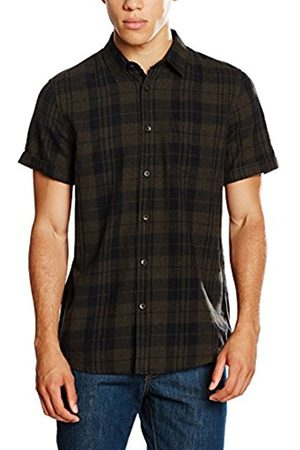 Men Casual - New Look Men's Melange Check Casual Shirt