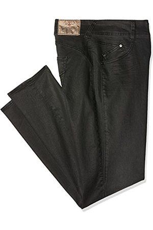 Women Slim & Skinny Trousers - Herrlicher Women's Gila Slim Trousers, -Schwarz ( 11)