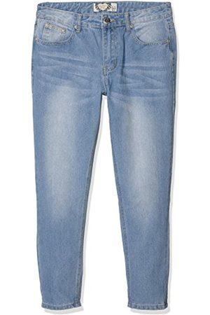 Women Baggy & Boyfriend - Boohoo Women's Sarah Mid Rise Mom Jeans