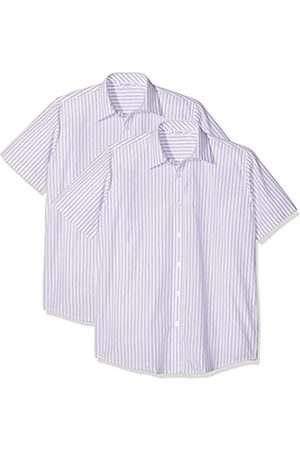 Boys Shirts - Boy's 2pk E/C L/S Contemp Outstanding Shirt