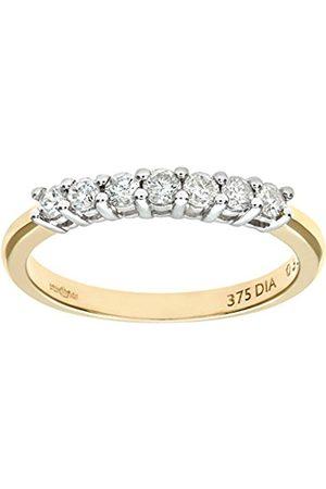 Women Rings - Naava 9 ct Diamond Eternity Ladies Ring