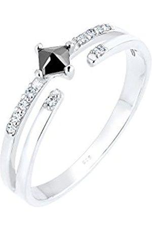 Women Rings - Women 925 Sterling Zircon Ring - Size Q 0612560216_58