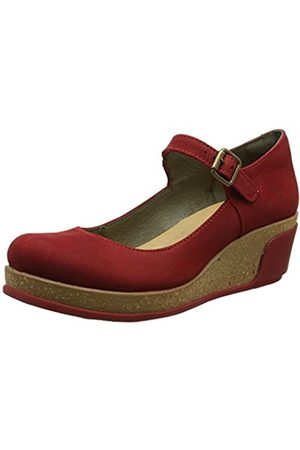 Women Wedges - El Naturalista S.A N5004 Pleasant Leaves, Women's Mary Jane Wedges