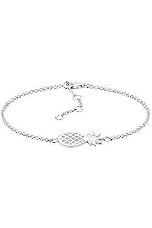 Elli Women's 925 Sterling Xilion Cut Pineapple Bracelet Of Length 17cm