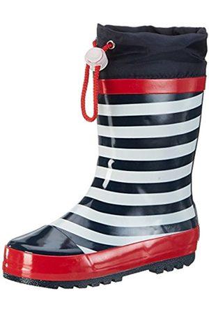 Wellingtons - Playshoes GmbH Unisex Kids' Rubber Maritime Wellington Boots