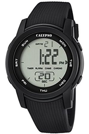 Calypso Unisex Digital Watch with LCD Dial Digital Display and Plastic Strap K5698/6