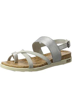 Women Sandals - s.Oliver 28116, Women's Wedge Heels Sandals, (Lt Comb 295)