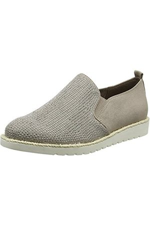 Women Brogues & Loafers - Jana Women's 24603 Loafers, (Lt Taupe 347)