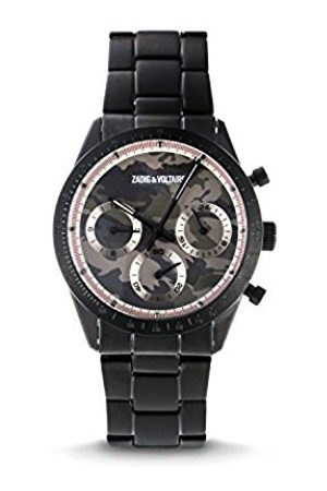 Watches - Zadig & Voltaire Unisex Watch Analogue Display and Stainless steel plated Strap ZVM126