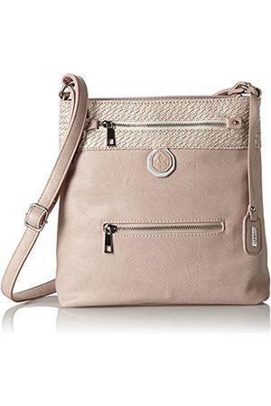 Women Shoulder Bags - Rieker H1302, Women's Shoulder Bag, Rot (hellrosa)