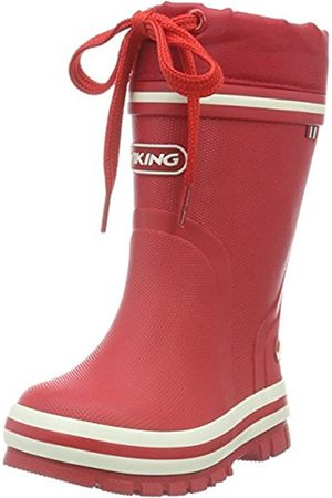 Girls Ankle Boots - Viking Unisex Kids' New Splash Winter Ankle Boots, -Rot ( 10)