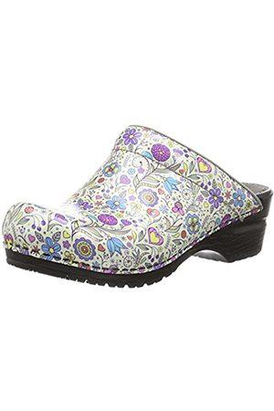 Women Clogs - Sanita Women's Isalena Open Clogs multi-coloured Size: 7-7