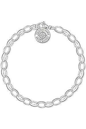 Little Mistress Women Bracelet Charm Club 925 Sterling Silver Diamond