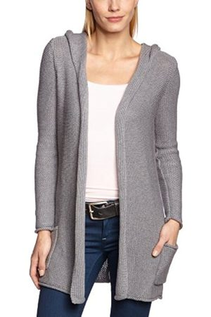 Women Cardigans - Blaumax Women's CARDIFF Hooded Long - regular Cardigan - - 16 (Brand size: XL)