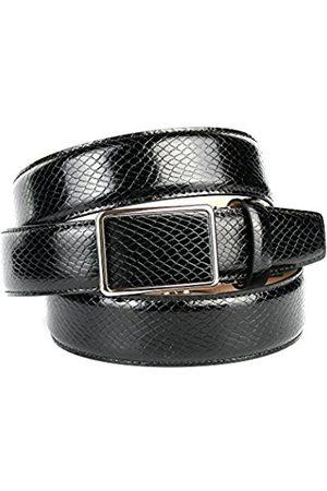 Anthoni Crown Men's 17SN10 Belt, (Schwarz 010)