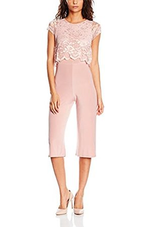Women Culottes - Boohoo Women's Linda Lace Overlay Culottes Trouser Suit