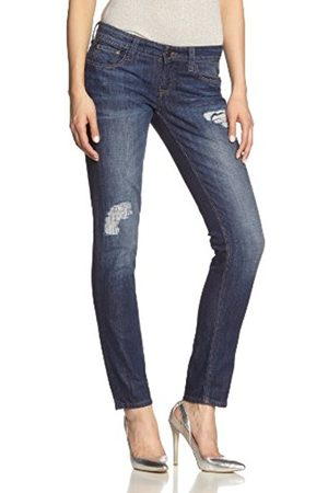 Cross Jeans Women's Kaylee, F 400 Jeans, Bleu (Washy Used Destroyed 013)